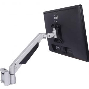 Monitor arm toolbar bracket