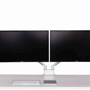 Monitor twin arm