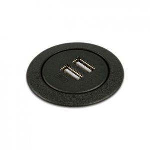 Round USB Grommet